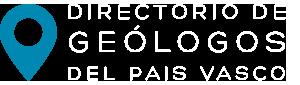 Directorio de geólogos del Pais Vasco